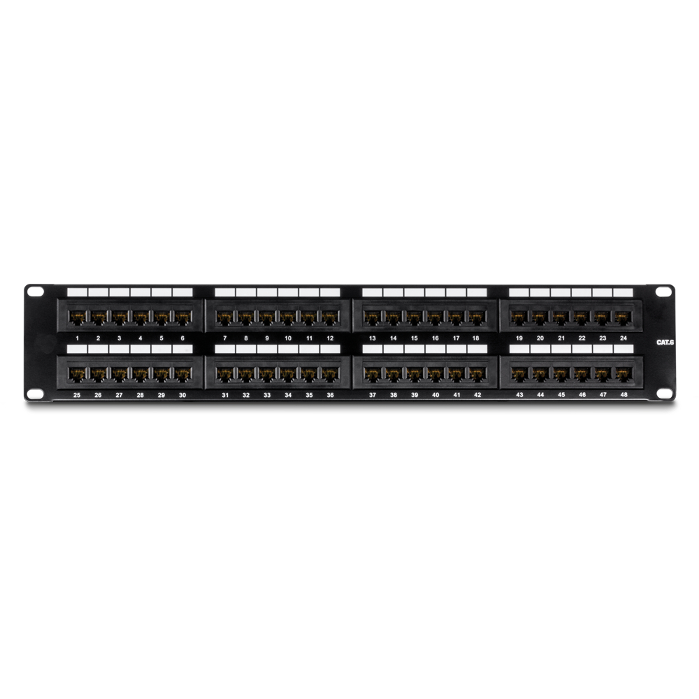 PATCH PANEL CAT6 48 PUERTOS ULINK